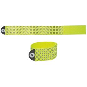 Wowow Reflexband ca 15x95 cm met klittenbandsluiting geel